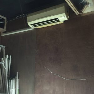 サラデーンATAMAサロンのエアコン設置工事