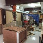 タニヤにある日本人ヘアーサロンの工事内容