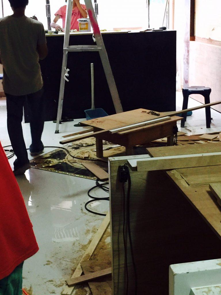 バンコクATAMAサロンの新店舗工事内容