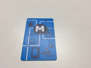 バンコクATAMAヘアーサロンのMRTカードイメージ