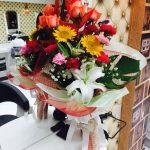 スクンビットソイ39春らんまん書房様からのお祝いの花束
