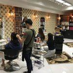 ATAMA hair salon ビル改装工事終了のお知らせ