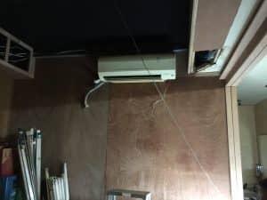 バンコクATAMAサロンのエアコン設置
