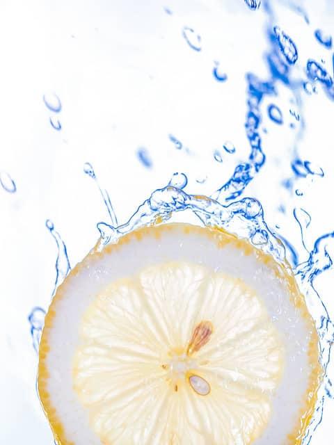バンコクATAMAヘアーサロンのレモンウォーターイメージ