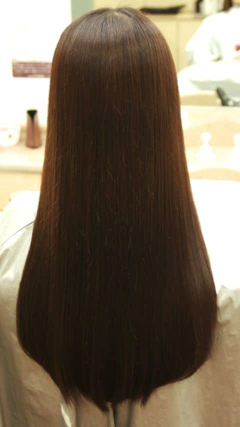 バンコクATAMAヘアーサロンのストレートパーマ縮毛矯正イメージ