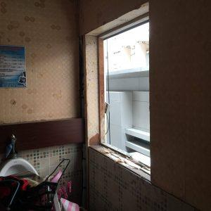 バンコクATAMAサロンの窓増設工事
