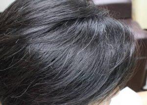 バンコクATAMAヘアーサロンの白髪イメージ